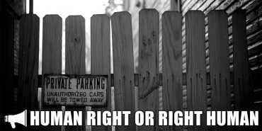 Human Right or Right Human